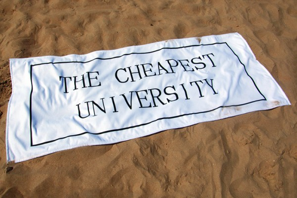 The Cheapest University