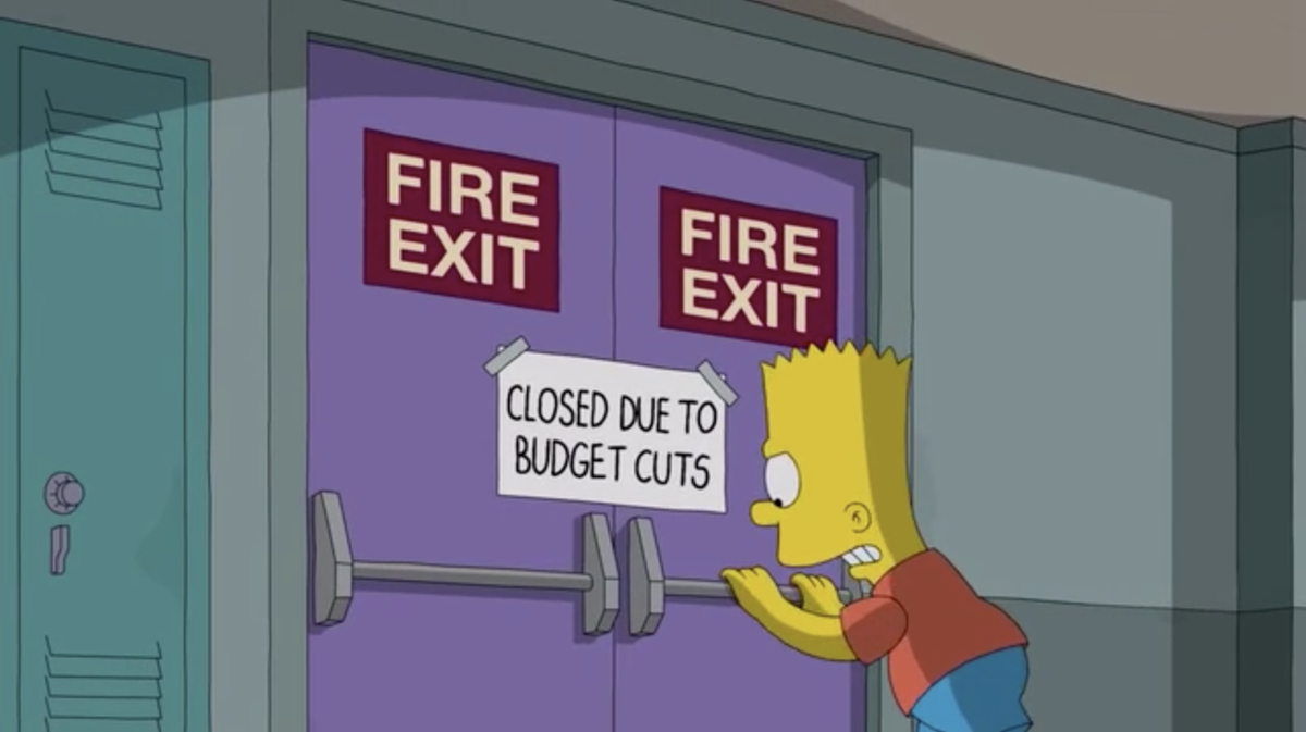 budget cuts — The Cheapest University